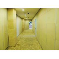China Acoustic Woven Modern Office Partitions Retractable  Steel Gusseted Reinforced on sale
