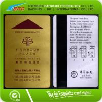 Quality magnetic hotel door lock card for sale