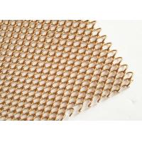China Stainless Steel Flexible Metal Mesh Drapery With 1.2MM Wire For Interior Drepary on sale