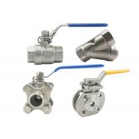 Quality Cf8 4 Inch Stainless Steel Ball Valve 316 Ss Ball Valve Fire Resistance for sale