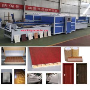 China Wood Mdf Board Making Machine Vacuum Press Laminating Machine on sale