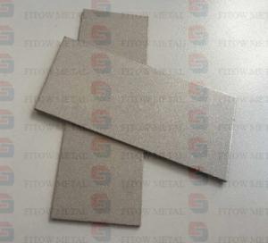Quality Titanium metal powder sintered porous filter plate baoji stock for sale