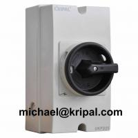 Quality IP66 25A 1000V DC isolator switch waterproof for solar PV system for sale