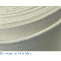 Quality Polyester filament Pneumatic fluidizing conveyor medium the woven type Air slide fabric belt 580mm width for sale
