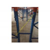 Corrosion protection Warehouse Storage Racks , Commercial Steel Selective Pallet