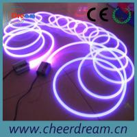 Buy cheap 1.5-20mm solid core side glow flexible fiber optic light from wholesalers