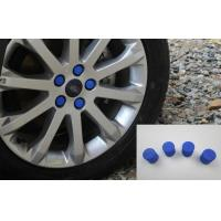 Quality Universal Auto Body Trim Parts , Colourful Silicone Rubber Wheel Nut Caps for sale