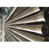SS Johnson Wire Screen Tube / Welded Wedge Wire Screen ISO Listed of