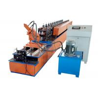 Quality High Speed U Channel Roll Forming Machine Servo Motor Drive Uncoiler Loading Capacity 3T for sale