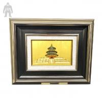 China Indoor  Colorful Square  Metal Frame Art Plating Finished Decorative on sale