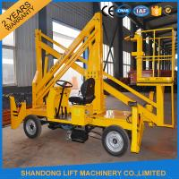 Quality Automatic 4 Wheels Articulated Vehicle Mounted Boom Liftfor 8m - 14m Aerial Work for sale
