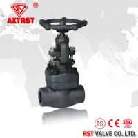 Quality API 602 Class 150LB- 800LB Forged Steel Threaded Globe Valve A105 NPT / SW / BW for sale