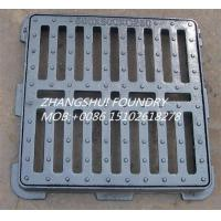 Buy cheap cast iron gully gratings and frame EN124 B125 from wholesalers