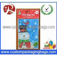 China Plastic Christmas Candy Treat Bags Printed Recycled With HDPE Raw Material on sale