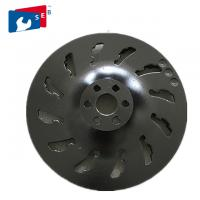 China Full Segmented Black Diamond Cup Wheel For Grinding Marbal Stone on sale