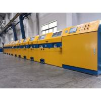 Quality Vertical Type Straight Line Wire Drawing Machine For Low / Medium Carbon Steel for sale