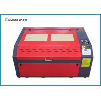 Quality 6040 Mini Cnc Paper Greeting Wedding Card Laser Cutting Machine Water Cooling for sale
