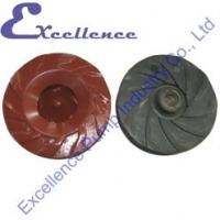 Quality Professional Industrial Slurry Parts, Anti-abrasive Pump Impeller for sale
