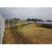 Quality Ground Mounted Ballasted Roof Mount Solar Racking 4400mm Span for sale