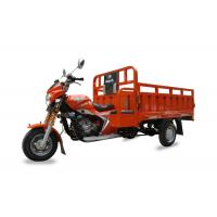 Quality Air Cooled Gasoline Three Wheel Cargo Motorcycle , Chinese Tricycle Motorcycle for sale
