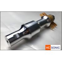 Buy cheap customized 15khz 3300w ultrasonic welding transducer with booster from wholesalers