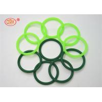 Quality Fluorine Rubber Seals O Ring Heat Resistant , Green O Rings For Aircraft Engine for sale
