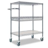 Quality Cold Room & Frozen Storage Custom Metal Shelving Stainless Steel Trolley & Carts System for sale