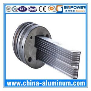 Quality 6063-T5 Custom Aluminium Extrusion Profiles for sale