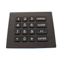 Quality Ip66 Dynamic Waterproof Backlight Door Entry Keypad With Usb Or Ps / 2 Port for sale
