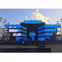 80000 Hours Lifetime Outdoor Advertising LED Display 6mm Led Panel Anti Dust