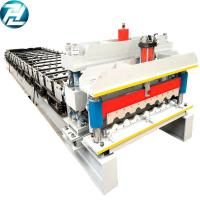 Quality Servo Motor Drive Roof Tile Roll Forming Machine 32mpa Yield Strength for sale