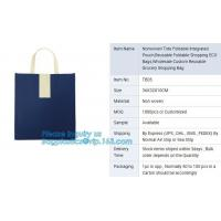 China china suppliers Wholesale Eco friendly Square foldable reusable 190T Polyester shopping bag,Popular Hot sale Promotional on sale