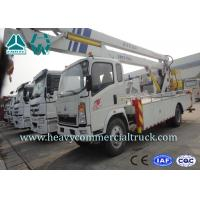 Quality Light Duty Aerial Ladder Truck Mounted Boom Lift Aerial Work Platform for sale