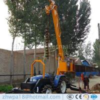 Quality Manufacture Solar Pit Drilling Machine Pole Erection for sale