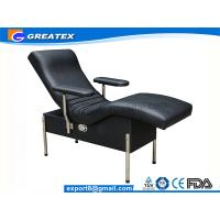 Quality Single Sofa Hospital Chair With Steel Stand Legs Blood Drawing Chair For Backrest for sale