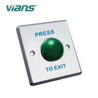 China Waterproof Mushroom Door Exit Button Stainless Steel Embedded Electric Case on sale