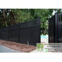 Quality Co-extrusion Thin Deck Board used for Fence WPC Fence Panels Wood Plastic Composite for sale