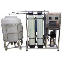 Quality 500lph RO Water Treatment System With Storage Tank / UV / Ozone Well Water Treatment Machine for sale