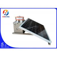Quality AH-MS/A Hot selling ICAO solar powered low intensity LED based aircraft / avaition warning light Images for sale