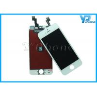 Quality Mobile Phone LCD Screen Digitizer for iPhone 5S LCD ,Black White for sale