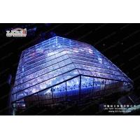 1500 People Clear Special Event Tent With Solid Glass Wall For Music Concert