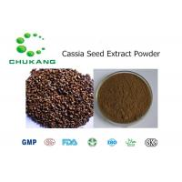 Quality Cassia Seed Extract Powdered Herbal Extracts / Cassia obtusifolia L Herbal Extract for sale