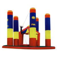 Quality Inflatable Amusement Park Bungee Trampoline For Outdoor Games for sale