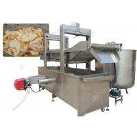 Quality Continuous Pork Rinds Chicken Deep Fryer Machine Commercial Gas Heating Energy for sale