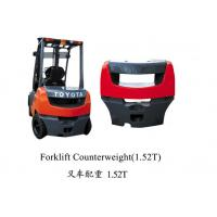 china factory OEM high quality iron cast forklift counter weight for sale