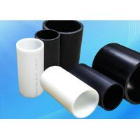 Quality Heat Resistant PE Plastic Pipe / Insulated Electrical Conduit Pipe for sale