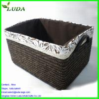 Quality Dyed color handmade laundry box for sale