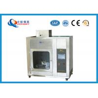 Buy cheap IEC 60695 Stainless Steel Needle Flame Testing Equipment / Pin Flame Test from wholesalers