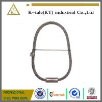 Quality Steel Wire cable slings for crane with both endless a lock factory made for sale