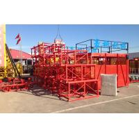 Quality Vertical Construction Material Hoist SS100/100 With Cage 2.8 x 1.5 x 1.9 m for sale